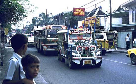 1973: Brian Nerrie served in Philippines in Ginoog; Intramuros beginning in 1973