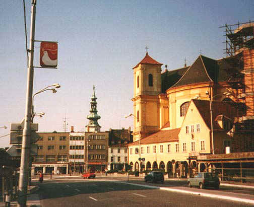 1995: carla cesare served in Slovak Republic in Spisska Nova Ves, Bratislava beginning in 1995