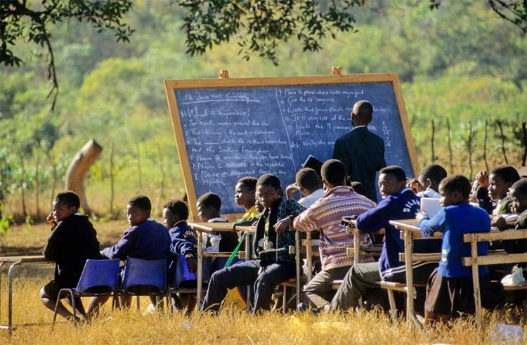 Peace Corps Volunteer Jenny Giboney says: the so-called �Bantu Education� system was designed to systematically teach black children to be oppressed and, worse, to be okay with that