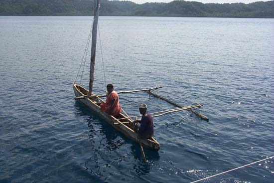 Mapuna�s goal in Vanuatu of achieving sustainability through self sufficiency appears possible under the careful guidance of Moriu Chief and chairman, Andrew Avio and Peace Corps Volunteer, Mike Koffma