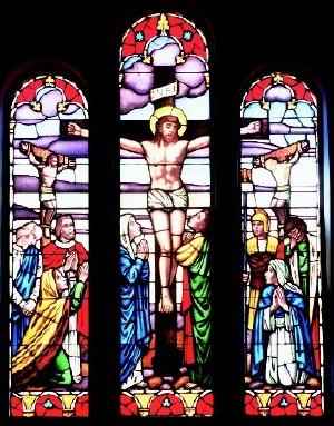 Rev. Vicki Engelmann focuses on Jesus' death on the cross
