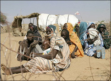 Kenya RPCV Tina Spadafora spent time in Sudan. It was one of the saddest places I've been to in my life, she said, describing the many starving and ill people who inhabit the refugee camps.