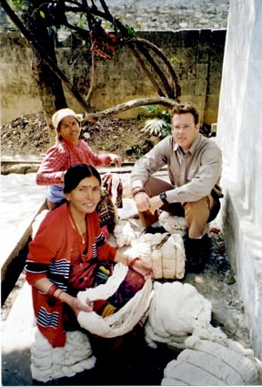 Just one year after returning from a Peace Corps tour of Nepal where he helped the Women Skills Development Project establish a textile industry, Darren Defendeifer stepped off a plane and onto the tsunami-devastated soil of Sri Lanka