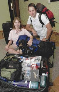David and Danyel Anderson have been packing busily for their Peace Corps trip to Nepal. But recent riots against Muslims in Katmandu, the capital, after 12 Nepalese hostages were killed by Islamist militants in Iraq, led to almost a month's delay in their trip abroad, which was first scheduled for last week.