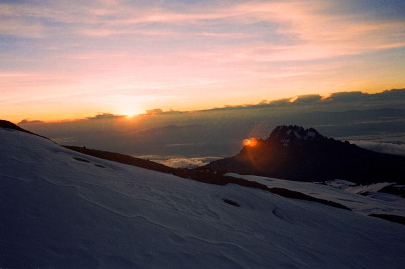 Kenya RPCV Pam Musk climbs Mount Kilimanjaro
