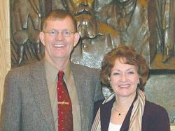 Peace Corps Volunteers Diane and Dave Phelps write their training in the Ukraine