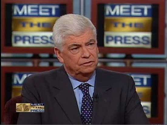 Dodd on Meet the Press warns against dangerous move in Iran
