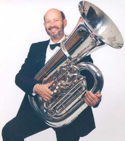 Chile RPCV Douglas Hunt plays Tuba with Stockton Symphony