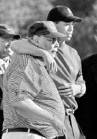 He was my best friend, Tiger Woods said Wednesday, and I can't think of a more touching epitaph for a father from a son.