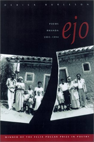 Rwanda RPCV Derick Burleson is a rising star in the literary world:  His readings are fascinating, He is a great storyteller. His book entitled 'Ejo' is based on his experiences as a Peace Corps volunteer in Rwanda just before the civil war.