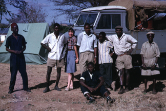 From 1964 to 1966, Eleanora (Norrie) Iberall Robbins served as a Peace Corps volunteer with the Tanzania Geological Survey (TGS)
