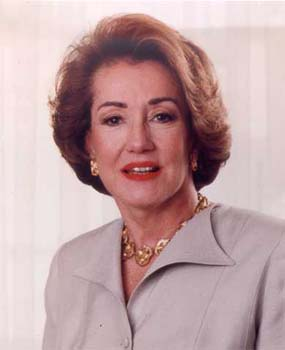 Senator Elizabeth Dole spent summers interning at Peace Corps