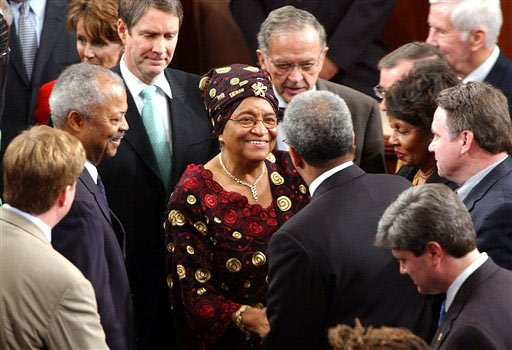 Johnson-Sirleaf Welcomes U.S. Peace Corps Return