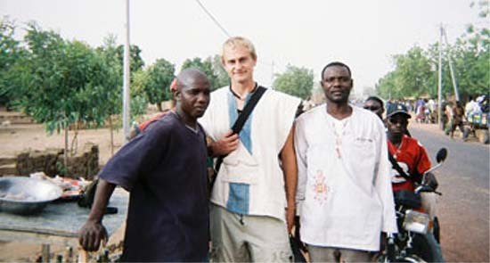 Eric Anderson joined the Peace Corps to do work in Malithat would be rewarding and beneficial for others and was not disappointed