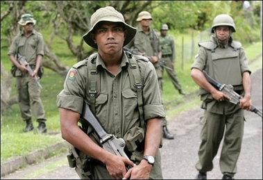 Military seizes control in Fiji