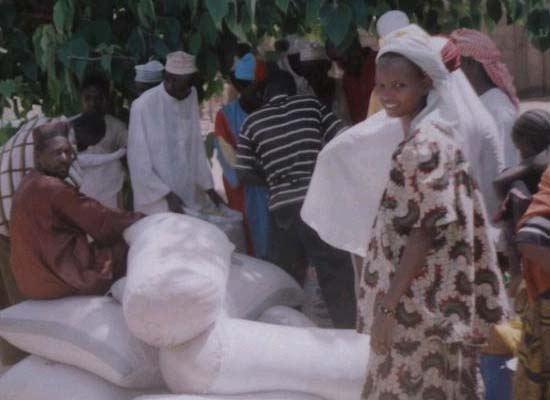 RPCV Ruth DeMaio&#39;s photos of food relief in Niger available online