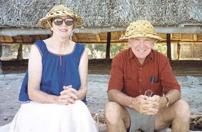 Fran Noonan served in the Peace Corps in Kiribati when she was 60 teaching English, geography and mathematics