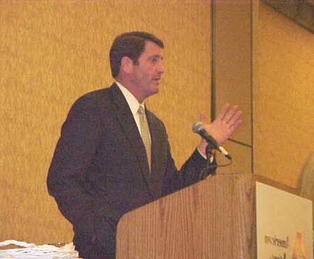 Commissioner Garamendi deplores 'defrauding' by insurance firms