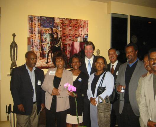 The Ethiopian-American community in California is rallying behind Insurance Commissioner John Garamendi's candidacy for Lieutenant Governor