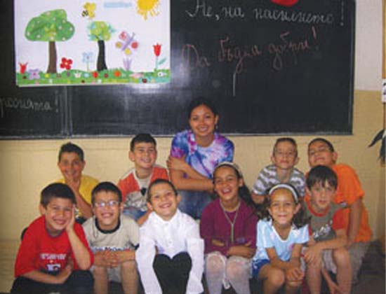 Gina Gonzales served as a Peace Corps Volunteer in Bulgaria