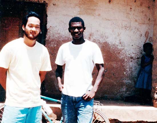 RPCV Glenn Nochi reunites with Central African Republic friend