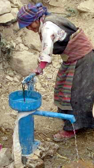 Kenya RPCV Lauren Stanley says Inventor of simple hand pump changed her life
