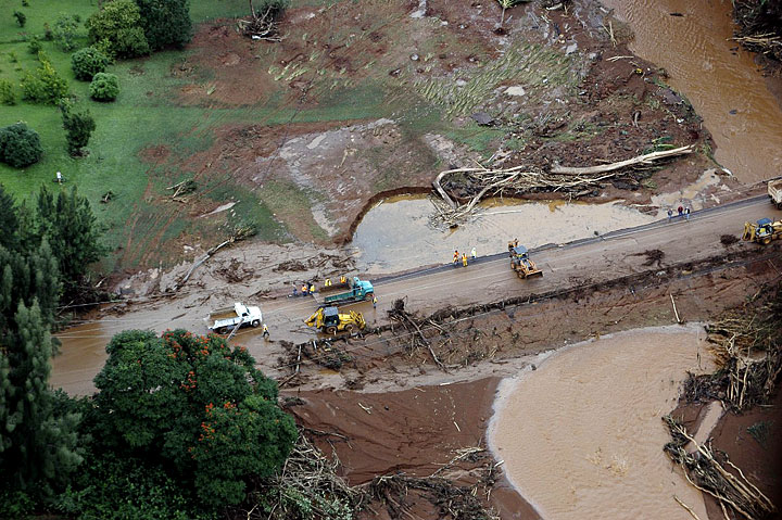 Sierra Leone RPCV Mike Dyer was key witness in Kauai's Ka Loko Dam Breach Disaster