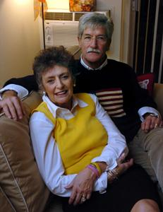Former Peace Corps volunteers Elene and Dale Hertweck are part of a growing trend of older Americans who heard the call of President Kennedy to serve in the Peace Corps when it was created in 1961, and can now finally enlist.
