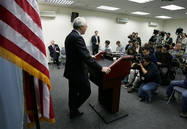 Press Conference at U.S. Embassy, Beijing, China by Christopher Hill, Assistant Secretary for East Asian and Pacific Affairs