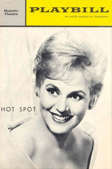 1963 was a year of great change, both nationally and theatrically with Hot Spot, a musical comedy about the Peace Corps that starred Judy Holliday