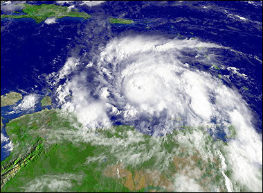 RPCV  Jan Droegkamp keeps eyes trained on Jamaica during hurricane