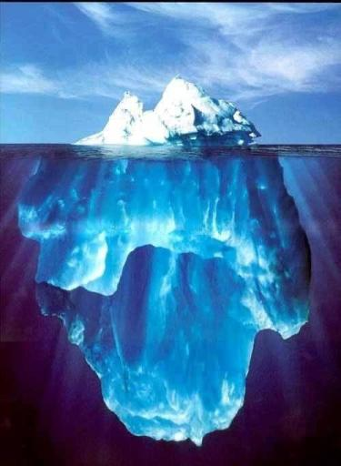 The iceberg concept is routinely used in Peace Corps' World Wise Schools and in other multicultural training programs
