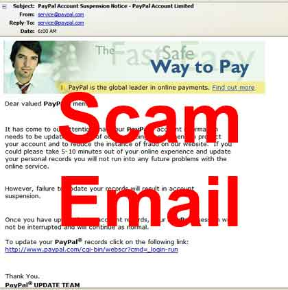 Peace Corps Internet Scams