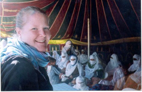 Jamie Pilarczyk was a Peace Corps volunteer in Morocco from 2004 to 2006