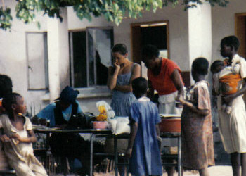 In 1987, Jeannie Ritter and her husband closed up their house, packed up their 1-year-old son and headed off to Zambia where they managed a food distribution and nutrition center