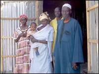 Senegal Peace Corps Volunteer Eric Mattson  told his parents that Jelaba Dallaba had suffered a tragedy during an intense storm when a Baolba tree crashed through the building housing the millet machine