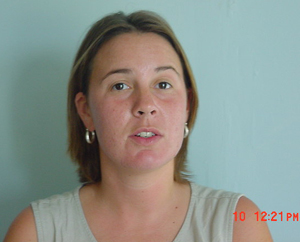 Jennifer Boyd, U.S. Peace Corps Volunteer in Antigua