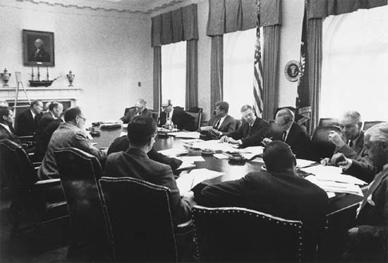 JFK and his Cabinet
