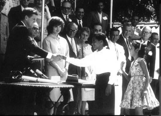 Kennedy in Caracas
