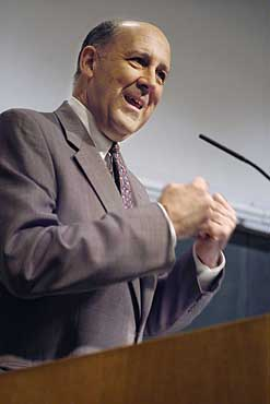 Governor Jim Doyle&#39;s proposal to build a $375 million interdisciplinary research center on the UW-Madison campus is characterized as a �response� to California, where voters passed a $3 billion, 10-year initiative to fund human embryonic stem cell research. <BR>