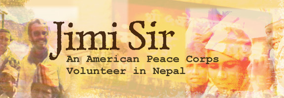Jimi Sir - Movie about an American Peace Corps Volunteer in Nepal