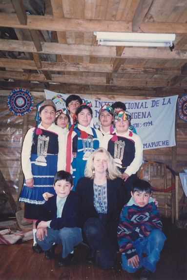 In 1992, Joanne Cady went to Chile as a Peace Corps volunteer