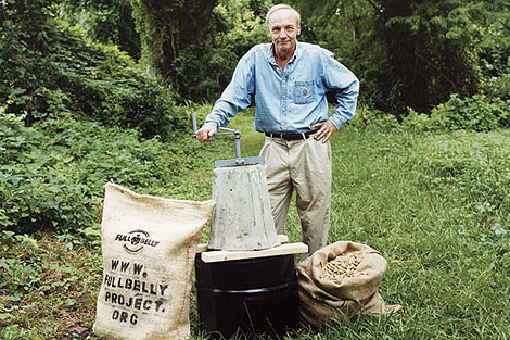 Jock Brandis and some Peace Corps veterans have launched the nonprofit Full Belly Project, which is distributing a hand operated peanut sheller to Ghana, Zambia and the Philippines