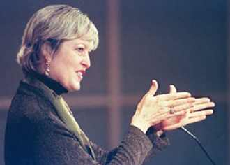 Jody Olsen speaks at Missouri University