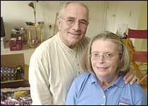 Katie Zawacki and her husband John, 69, started their journey to St. Lucia to begin a tour with the Peace Corps that will last two years and three months
