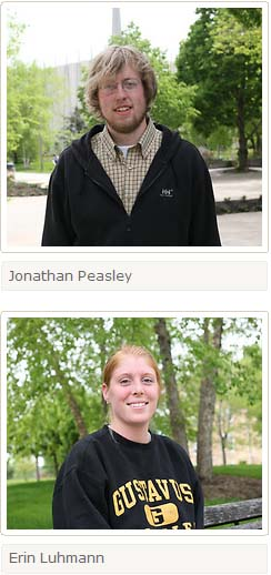 Erin Luhmann and Jonathan Peasley will depart for the Kyrgyz Republic on July 5 to serve as Peace Corps Volunteers