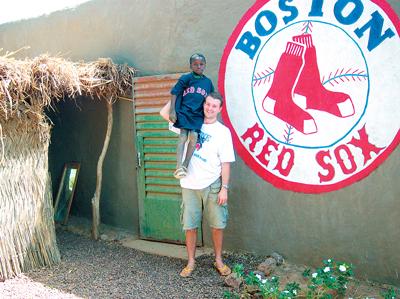 Fresh off a 27-month stay in the landlocked West African country of Burkina Faso, Josh Yardley can thank the Boston Red Sox for making his transition from East Coast metropolis to the third-poorest nation in the world much easier