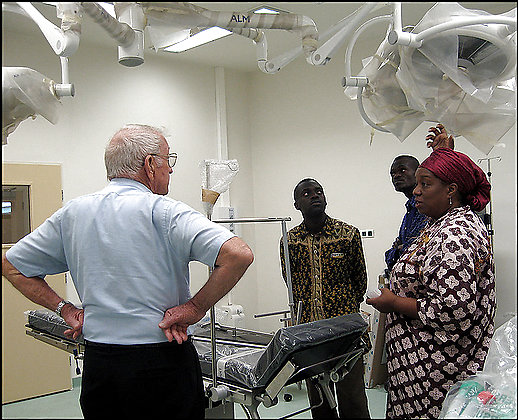 Congo Kinshasa RPCV Beth Duff-Brown writes: Joyce Hightower, a California physician at the Biamba Marie Mutombo Hospital in Kinshasa, hopes that the first 60 beds will be ready by October