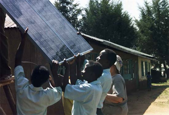 A $6,000 solar-powered lighting system will be installed at the Givogi Secondary School in August by Kenya RPCV Mark Maxam and other volunteers from across the country