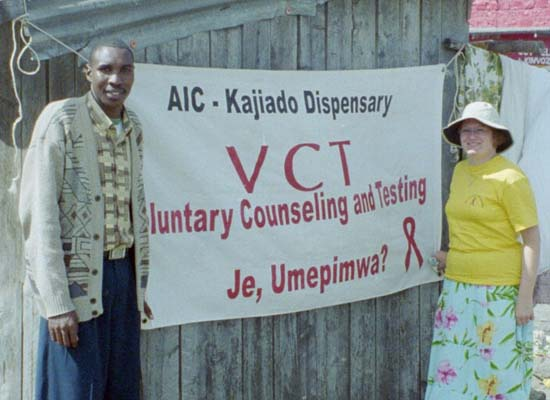Kathy Randall is a Peace Corps Volunteer working in Public health in Kenya